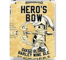 Smashed Bros. Hero's Bow Oaked Blonde Barley Wine Ale (#3) iPad Case/Skin