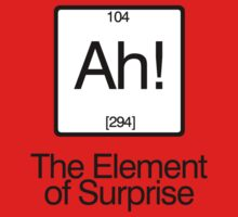 The Element of Surprise Baby Tee