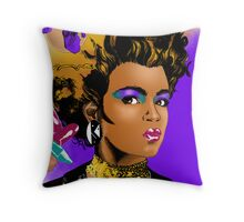 Make-Up Poster Throw Pillow
