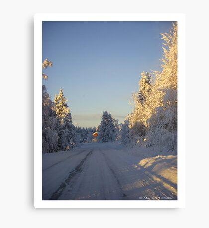 Wonderful winter... Canvas Print