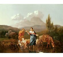 Holy Family at a Stream by Karel Dujardin Photographic Print