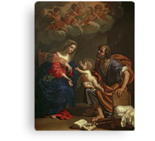 The Holy Family by Gennari Canvas Print