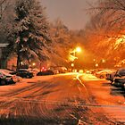 &quot;A Snowy Evening in Knoxville&quot; (a series, no.1) by  Bob Hall