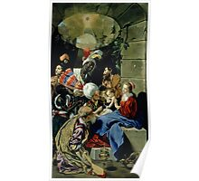 The Adoration of the Kings, 1612 by Maino or Mayno Poster