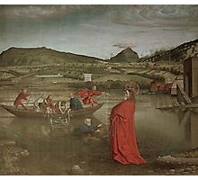 Miraculous Draught of Fishes, from the Altarpiece of Cardinal Francois de Mies by Knorad Witz Photographic Print