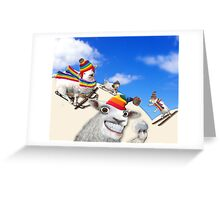 Snowball Fight Anyone? Greeting Card