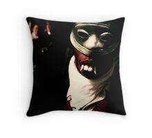 Carnival, Mask Throw Pillow