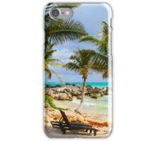 Tulum Beach, South of Cancun, MEXICO iPhone Case/Skin