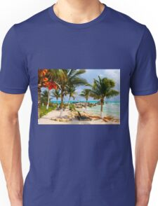 Tulum Beach, South of Cancun, MEXICO Unisex T-Shirt
