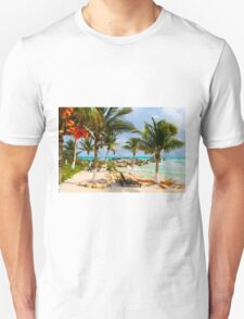 Tulum Beach, South of Cancun, MEXICO T-Shirt