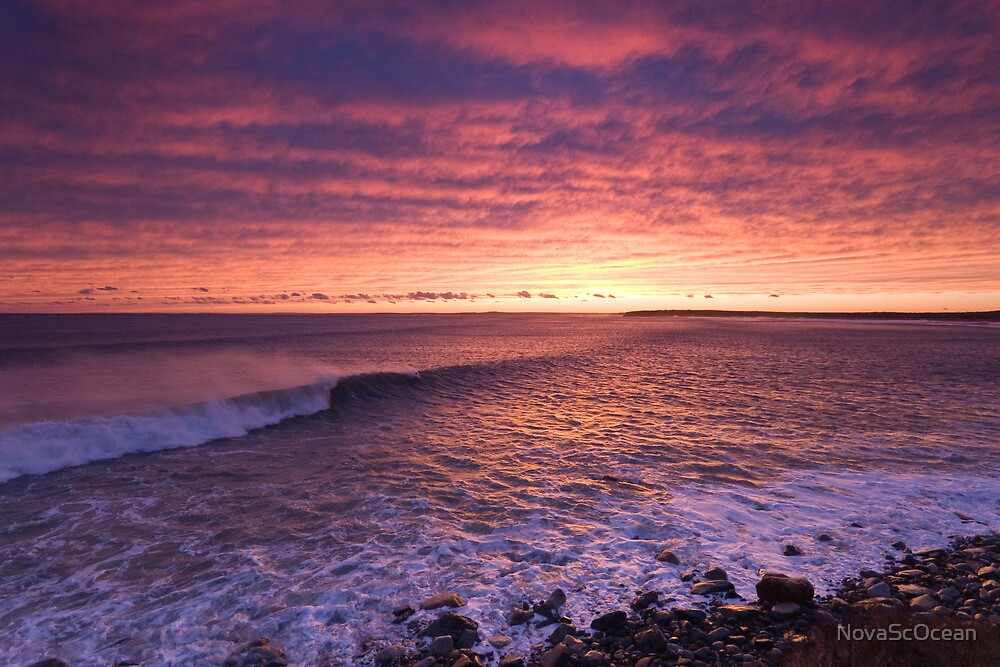 Sunset Surf by NovaScOcean