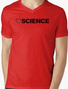 Love Science Mens V-Neck T-Shirt