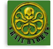 Hydra Traditional colors Canvas Print
