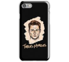 Tobias Menzies Portrait iPhone Case/Skin
