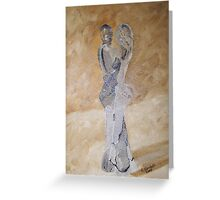 The Lovers - Original Oil on canvas Greeting Card