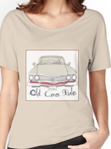 'Old Cars Rule' Plymouth Belvedere Women's Relaxed Fit T-Shirt