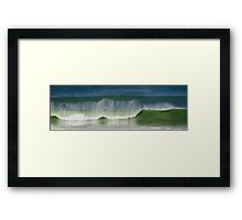 West Coast Magic, Baylys Beach NZ Framed Print