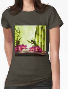 Bamboo Womens Fitted T-Shirt