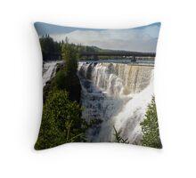 Kakabeka Falls Ontario Throw Pillow