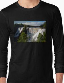 Kakabeka Falls Ontario Long Sleeve T-Shirt