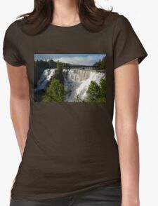 Kakabeka Falls Ontario Womens Fitted T-Shirt