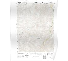 USGS Topo Map Oregon Horse Sign Butte 20110809 TM Poster