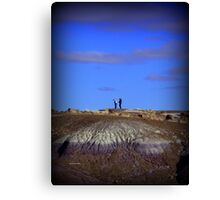 Humans and Nature Canvas Print