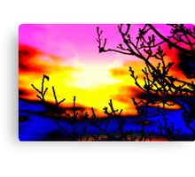 """""""SCORCHED EARTH"""" Canvas Print"""