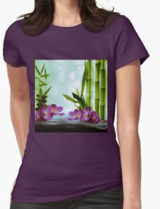Bamboo 2 Womens Fitted T-Shirt