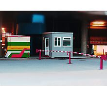 barriers. Photographic Print