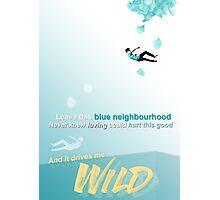 "Troye Sivan ~ Wild ~ ""Blue Neighbourhood"" Photographic Print"