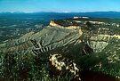 The edge of Mesa Verde by nealbarnett