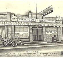 Easy Rider's Melancon's Cafe', circa 1938-1997 by carolhurst