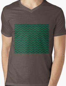 Slytherin Chevron Mens V-Neck T-Shirt