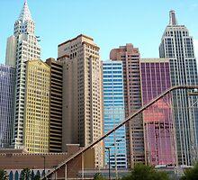 Las Vegas Skyline by tausterl
