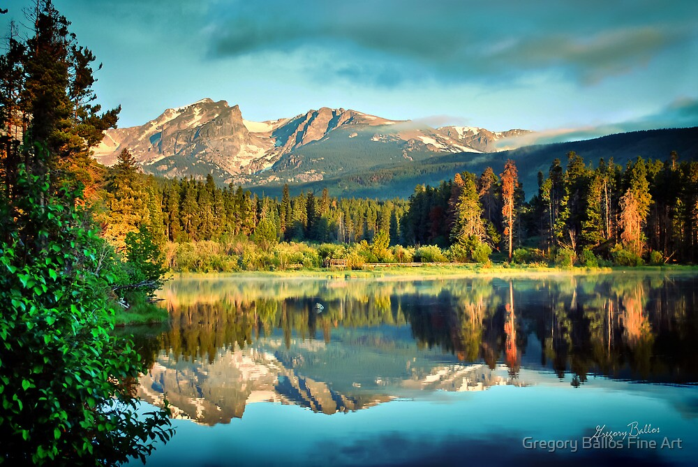 Rocky Mountain Morning by Gregory Ballos | FineArtScapes.com