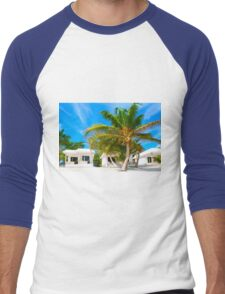 Caribbean beach in Tulum, MEXICO Men's Baseball ¾ T-Shirt
