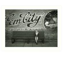 Gem City Art Print