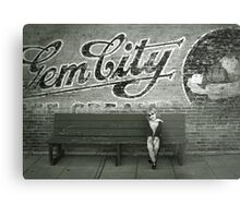 Gem City Metal Print