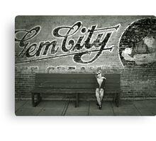 Gem City Canvas Print