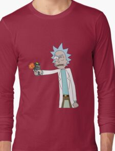 Rick's Iconic Gun and Him T-Shirt