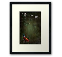 """""""Rustle Continued ....he felt as though he was being watched..."""" Framed Print"""