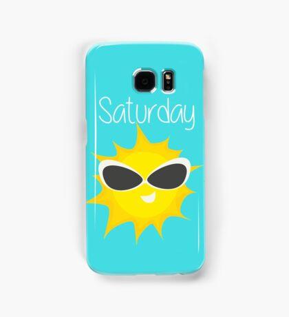 Saturday Samsung Galaxy Case/Skin