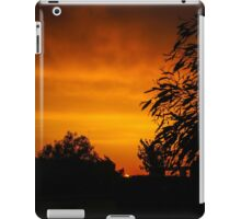 Fiery Orange Sunset iPad Case/Skin