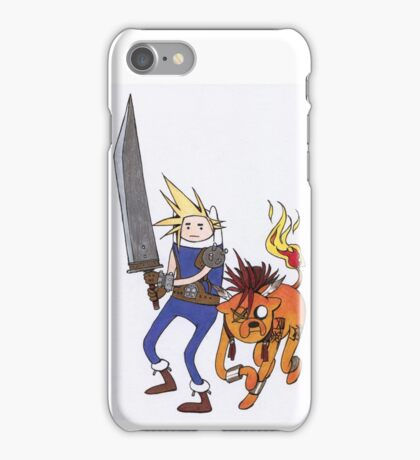 FF7 Time! iPhone Case/Skin