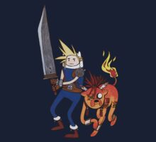 FF7 Time! Kids Tee
