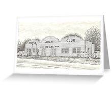 Triple Arch Club, 1936-1970 Greeting Card