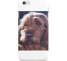 Basset Fauve de Bretagne Fine Art Painting iPhone Case/Skin