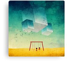 They're Coming (The Cubes) Canvas Print