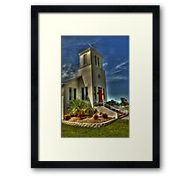 Everglades Community Church Framed Print